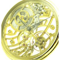 Audemars Piguet   Skeleton 18kt Yellow Gold Pocket Watch, From...