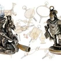 Pocket watch keys: rare collection of fine antique verge watch...