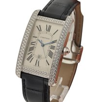 Cartier WB710004 Tank Americaine Mid Size White Gold - Factory...