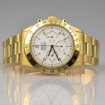 Zenith El Primero Chronograph 18k Gold B&P Vintage 1992