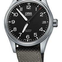Oris Big Crown ProPilot Date, Black Dial, Grey Bracelet