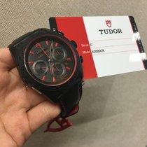 Tudor Cally - 42000CR Fastrider Black Shield black case RED 黑面紅針