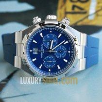 Vacheron Constantin Overseas Chronograph Blue Dial Blue Rubb