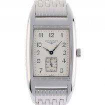 Longines Belle Arti Stahl Quarz Armband Stahl 54x27mm Vintage...
