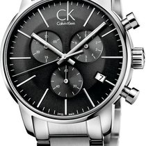 ck Calvin Klein City Chrono K2G27143 Herrenchronograph Swiss Made