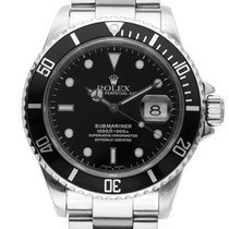 Rolex Submariner Date ref. 16610 vintage, men's watch, 1997