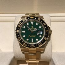 Rolex GMT-Master II Ceramic Bezel Green Dial  B&P