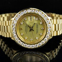 Rolex Ladies 26 MM Rolex President Datejust 18K Yellow Gold...