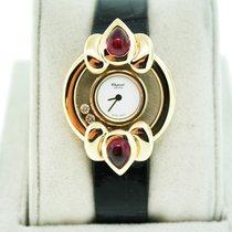 Chopard Happy Diamonds 18K  Gold and Pink Tourmaline Watch