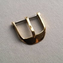 Neutral Old Handcrafted Yellow Gold (710/1000) Buckle 18mm