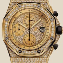 Audemars Piguet Royal Oak Offshore  Chronograph Gold Jeweled