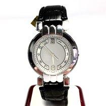 Harry Winston 18k Solid White Gold Men's/unisex Watch W/...
