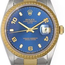 Rolex Date Men's 2-Tone Watch 15223