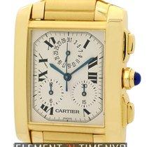 Cartier Tank Collection Tank Francaise Chronograph 18k Yellow...