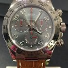 Rolex DAYTONA WHITE GOLD RACING GREY SPECIAL DIAL
