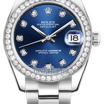 ロレックス (Rolex) Datejust 31mm Stainless Steel 178384 Blue...