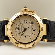 Cartier Pasha Yellow Gold Depl. Clasp 18 krt / 39 mm (Full Set)