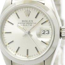 ロレックス (Rolex) Polished Rolex Datejust  Steel Automatic Ladies...