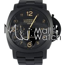 Panerai Luminor 1950 3 Days Gmt Automatic All Black Ceramic...