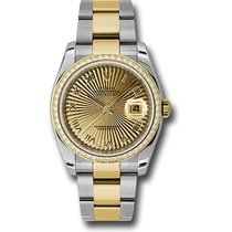 勞力士 (Rolex) Rolex Datejust 36mm - Steel and Gold Datejust 36mm...