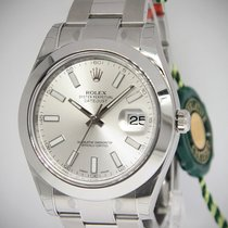 Rolex Datejust II Stainless Steel Silver Dial Mens Watch...