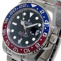 Rolex Gmt Master Ll Pepsi White Gold 116719blro 116719 Blue...
