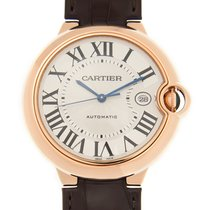 卡地亚 (Cartier) Ballon Bleu 18k Rose Gold White Automatic WGBB0017