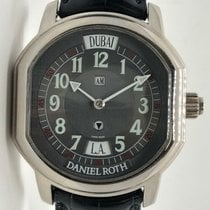 Daniel Roth 2 Time Zone 18k White Gold Automatic 357-bc...