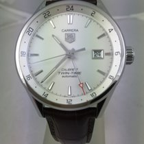 TAG Heuer Carrera Calibre 7 Twin-Time Automatik 41mm WAR2011.F...