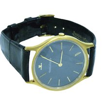 Jaeger-LeCoultre 18K Gold Mechanical Mens Watch