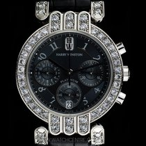 Harry Winston Platinum Diamond Set Premier Chronograph...