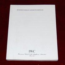IWC Internationale Garantie Buch/ Heft