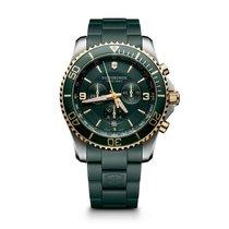 Victorinox Swiss Army Maverick Chronograph, date, green dial,...
