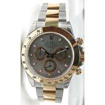 Rolex Daytona 116523 Chronograph Stainless Steel & 18K...