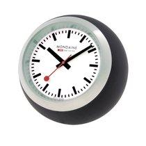 Mondaine Desk Clock Globe Quartz 60mm WALL CLOCK A660.30335.16SBB