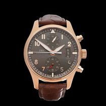 IWC Pilot's Chronograph Spitfire Chronograph 18k Rose Gold...