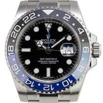 "Rolex GMT-Master II ""Batman"" Stainless Steel Watch..."