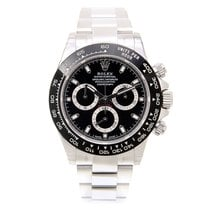 Rolex Cosmograph Daytona Stainless Steel Black Automatic...