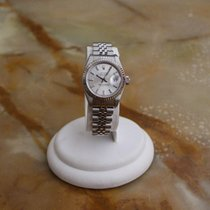 Rolex Lady-Datejust 18k White Gold Bezel