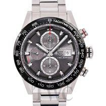 TAG Heuer Calibre HEUER 01 Automatic Chronograph Black Steel...