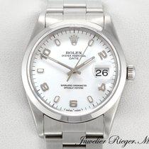 Rolex Date Edelstahl Automatik 15200
