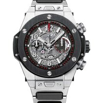 Hublot 411.NM.1170.NM Big Bang Unico Chronograph in Titanium...