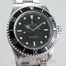 Rolex Submariner Sans Date 14060 Tritium Certif Rolex + Boite