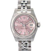 Rolex Lady Datejust Pink Dial Jubilee Bracelet - 179174