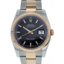 Rolex Oyster Perpetual Datejust 18K Rose Gold & SS 116231