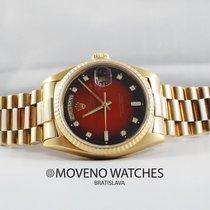 Rolex Day-Date 18038 RED vignette diamond dial