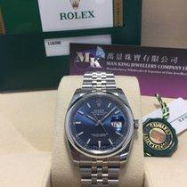 Rolex 116200 Datejust Blue Dial Jubilee 36mm Steel