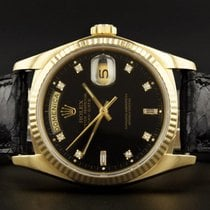 Rolex Day-Date 18038 - 1986 - 18ct Gold With Rolex Factory...