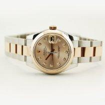 Rolex Lady-Datejust Two Tone 18kt RG/SS Diamond Dial-178241