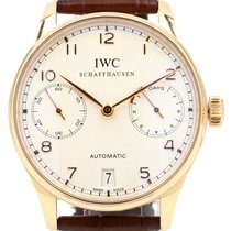 IWC Portuguese Automatic IW500113 Silver Arabic Rose Gold 7...